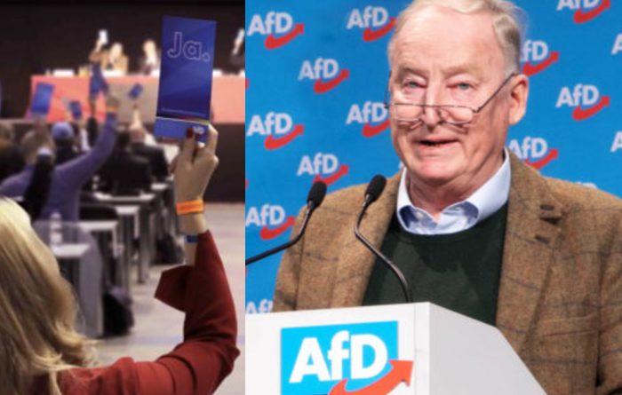 Europawahlversammlung der AfD