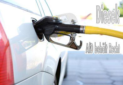 AfD behält Recht im Dieselstreit